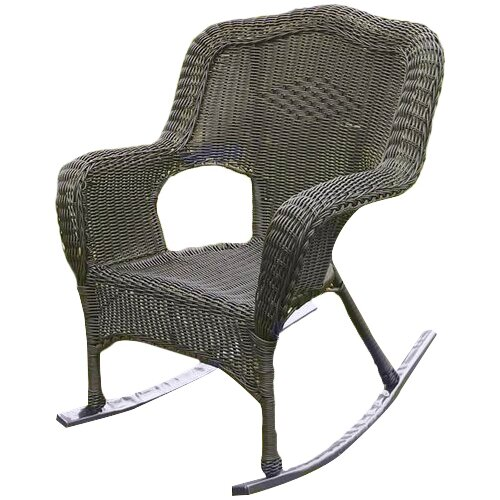 Darby Home Co Bilmont Wicker Resin Outdoor Rocking Chair & Reviews