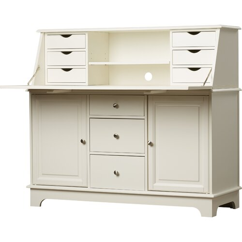 Darby Home Co Sullivan Secretary Desk Amp Reviews Wayfair