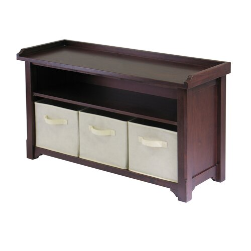 Charlton Home Storage Entryway Bench Reviews Wayfair