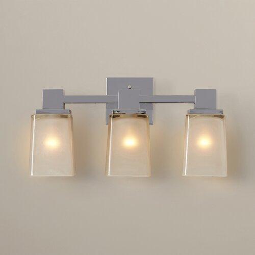 Bathroom Vanity Lights Too Hot : Wade Logan Paulton 3 Light Bath Vanity Light & Reviews Wayfair