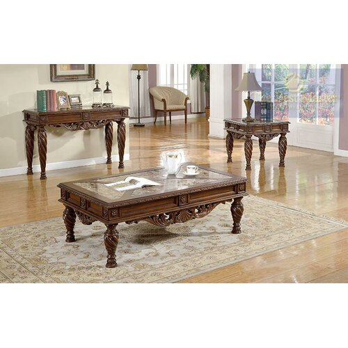 3 piece coffee table set wayfair for 3 piece living room table sets