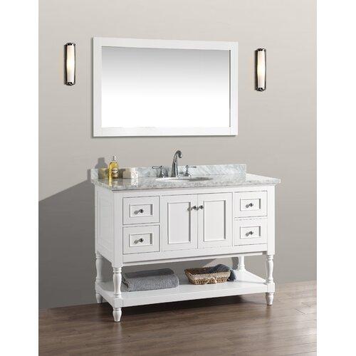 """Ari Kitchen & Bath Cape Cod 48"""" Single Bathroom Vanity Set"""