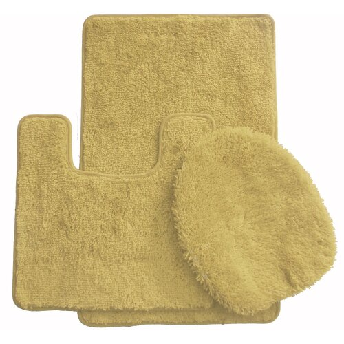 Amazing Bring Stylish Form And Function To Your Bathroom D&233cor With The Finest Luxury 3piece Bath Rug Set Each Piece Showcases Solid Color And A Soft Plush Feel For Comfort The Set Includes A Matching Toilet Lid Cover To Give Your Room A