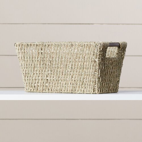 Anne Basket with Handles by August Grove