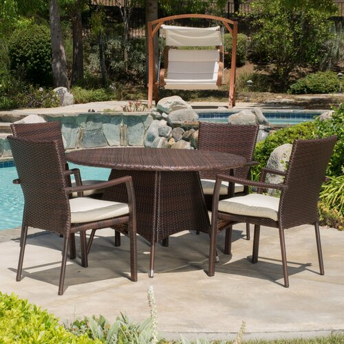 Alcott Hill Pittsburgh 5 Piece Dining Set & Reviews