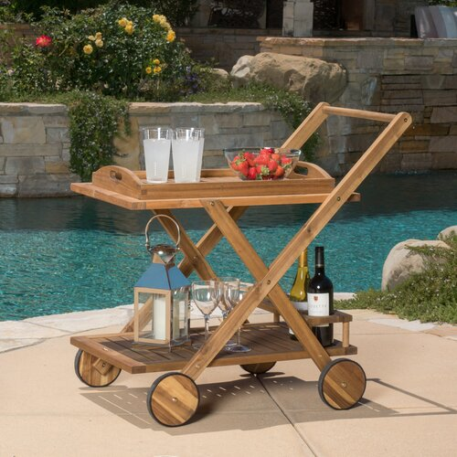Deer Island Serving Cart