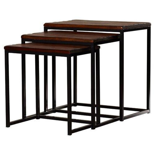 Trent Austin Design Pemberton 3 Piece Nesting Table Set amp Reviews Wayfair