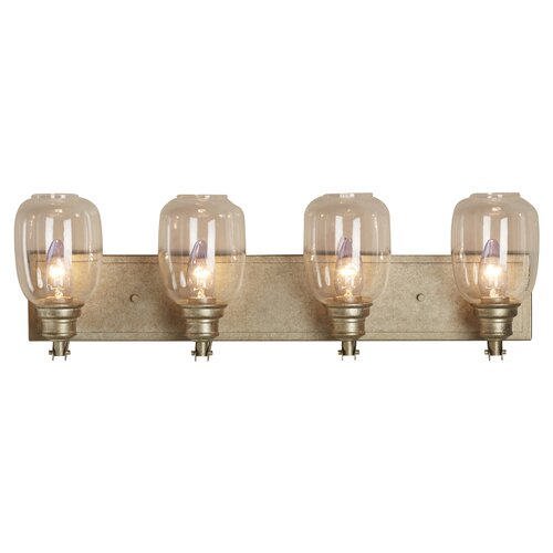 Fall River 4 Light Bath Vanity Light by Trent Austin Design