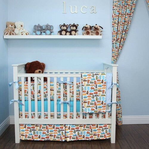 Cars 6 Piece Crib Bedding Set