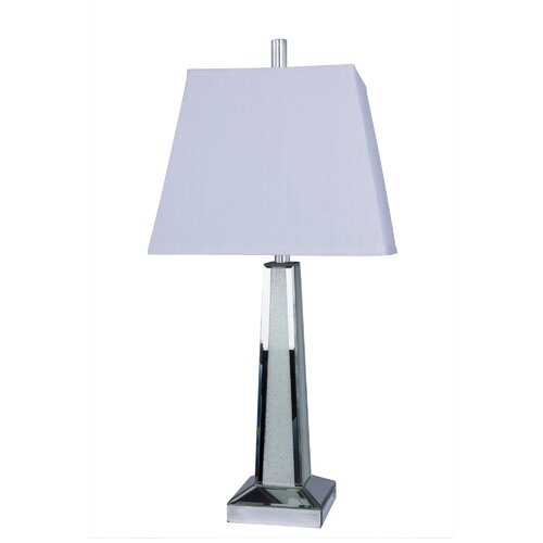 Beachcrest Home Tampa Glass 24 5 Quot H Table Lamp With Empire