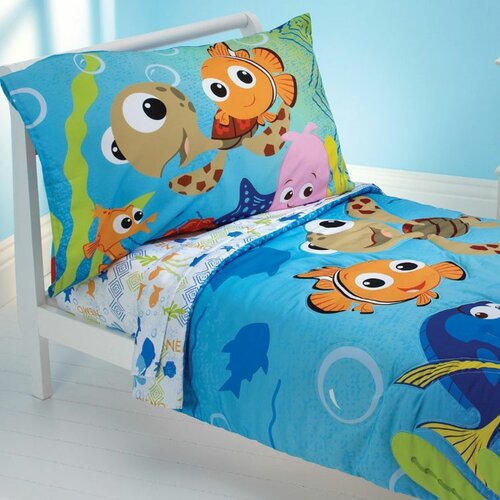 Finding Nemo Friends 4 Piece Toddler Bedding Set Wayfair