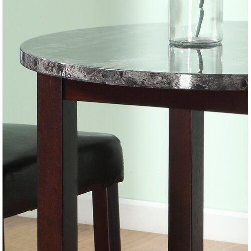 Roundhill Furniture 3 Piece Counter Height Pub Table Set: Roundhill Furniture Praia 3 Piece Counter Height Dining