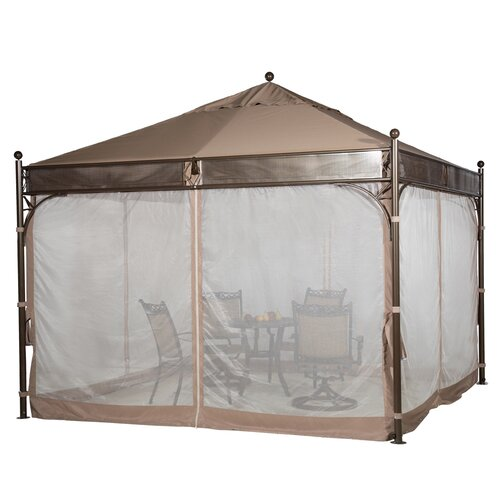 Outdoor Steel Frame Canopy : Outdoor art steel frame garden party backyard gazebo