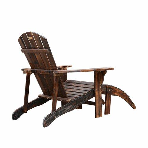 Outdoor patio furniture adirondack chairs outsunny sku otsu1055