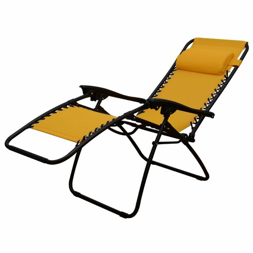 outsunny zero gravity chaise lounge with cushion reviews