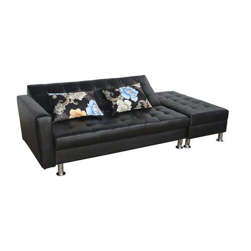 Folding Sofa Bed Sleeper: HomCom Folding Couch Sleeper Sofa & Reviews