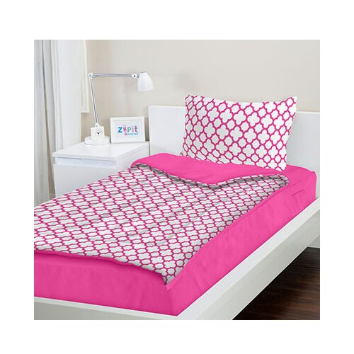 Zipit Bedding 3 Piece Bed In A Bag Set In Pink Amp Reviews
