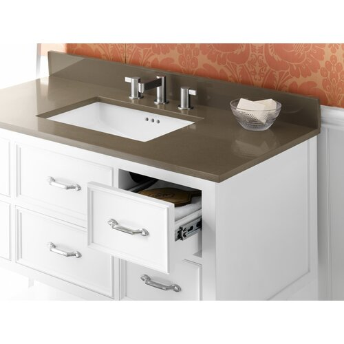 ronbow newcastle 42 bathroom vanity cabinet base in white reviews