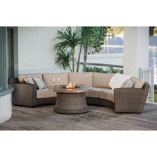 San Rafael 4 Pieces Fire Pit Seating Group With Cushion