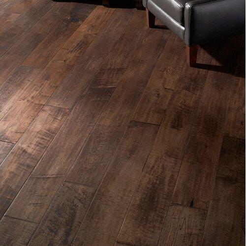"Albero Valley Farmhouse 7 1 2"" Engineered Maple Hardwood Flooring in Eng"