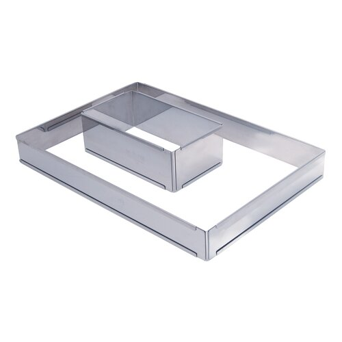 Adjustable Stainless Steel Pastry Frame by De Buyer