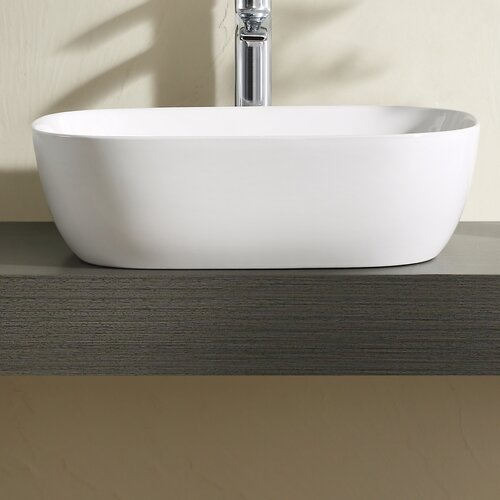 Thin Sink : Vitreous China 19