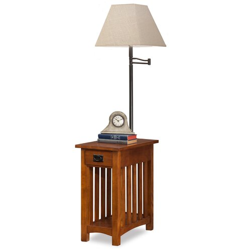 Leick Favorite Finds Mission End Table & Reviews