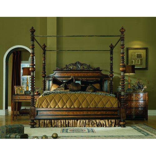 Lisbon eastern king customizable bedroom set wayfair for Eastern legends bedroom furniture
