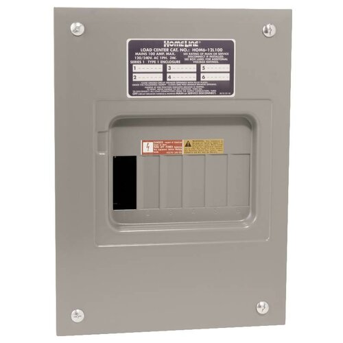 Amp Manual Transfer Switch with Main Indoor Lug Load Center   Wayfair