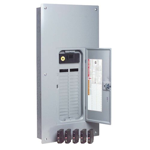 Amp Manual Transfer Switch with Breaker Value Load Center by Square D