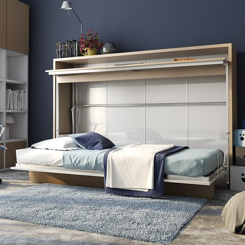 Multimo Genio Twin Murphy Bed Amp Reviews Wayfair