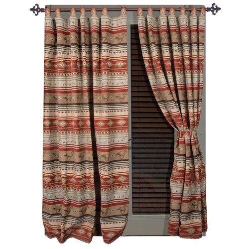Sweet Home Collection Mason Jar Cottage Kitchen Curtain
