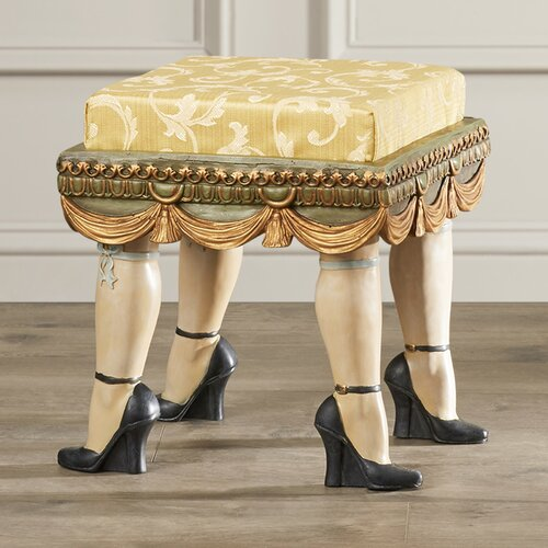 Rosalind wheeler dorton boudoir stool reviews wayfair for Boudoir stoel