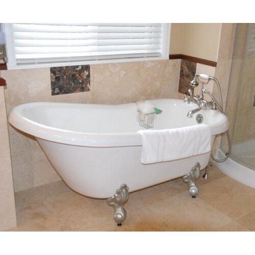 restoria bathtub company ambassador 60 x 30 bathtub