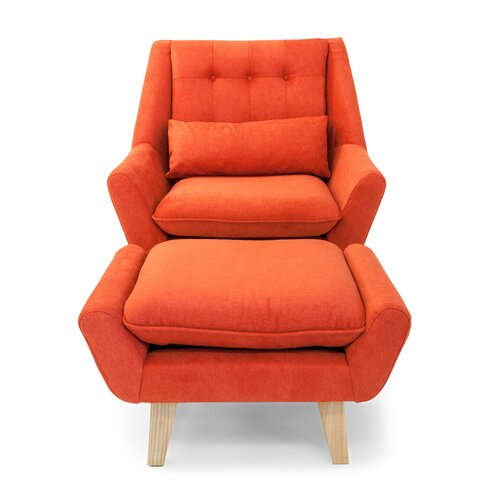 stuart mid century modern lounge chair by kardiel