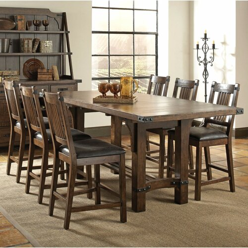 Counter Dining Room Sets: 7 Piece Counter Height Dining Set