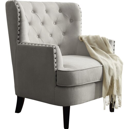 Instant Home Chrisanna Tufted Upholstered Club Chair