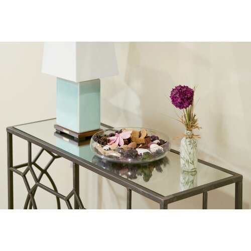 Glamour Home Decor: Glamour Home Decor Aaralyn Mirrored Console Table