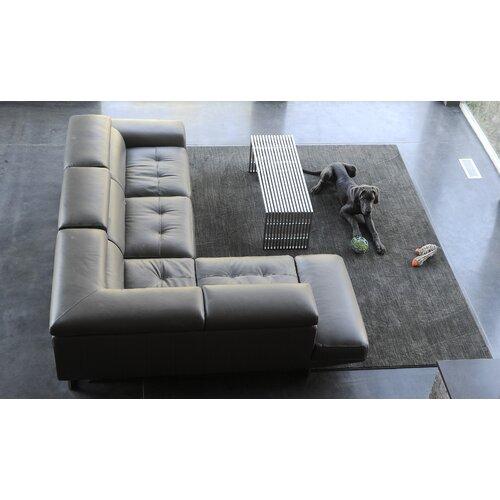 Hand-Tufted Dark Grey Area Rug by Nance Industries