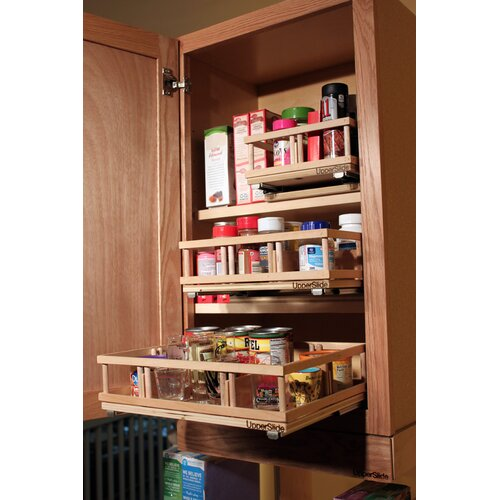 Spice Rack For Kitchen Cabinets: Upper Cabinet Spice Rack Caddy Medium