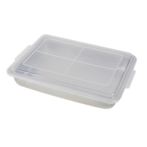 Non-Stick AirBake Natural Cake Pan with Cover by Good Cook