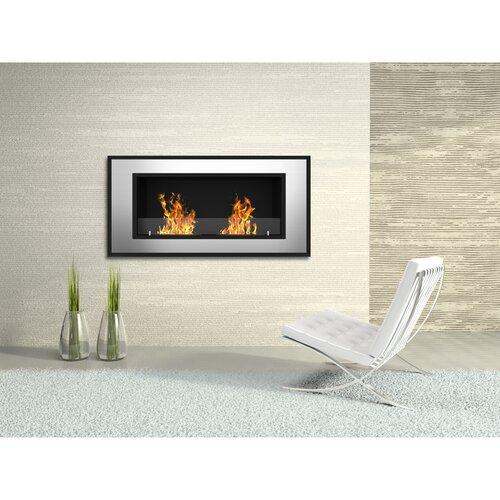 Tulsa Ventless Recessed Or Wall Mounted Bio Ethanol Fuel Fireplace Wayfair