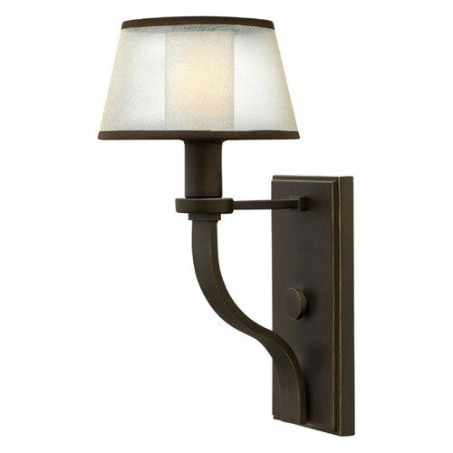 Hinkley Lighting Mercer: Prescott 1 Light Wall Sconce
