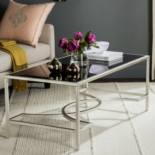 elegant glass top coffee table 2