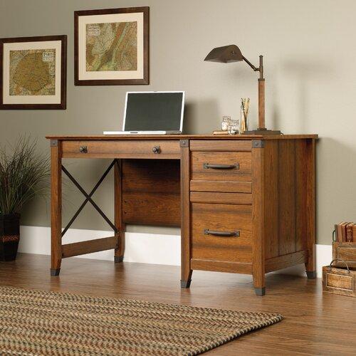 Sauder Carson Forge Computer Desk