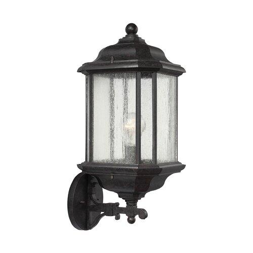 Sea Gull Lighting Kent 1 Light Wall Lantern & Reviews