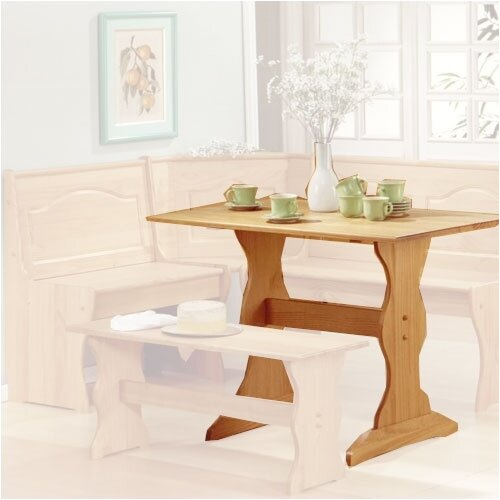 Nook Dining Tables Chelsea Dining Nook With Nook Dining: Linon Chelsea Nook Kitchen Table & Reviews