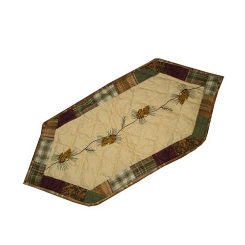 Patch Magic Forest Log Cabin Table Runner Amp Reviews Wayfair