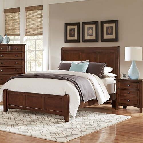 Vaughan-Bassett Mansion Panel Bed & Reviews