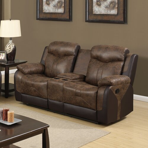 Darby Home Co Larose Glider Reclining Loveseat Amp Reviews